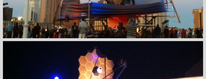 NASA's James Webb Space Telescope Model is one of NASAさんのお気に入りスポット.
