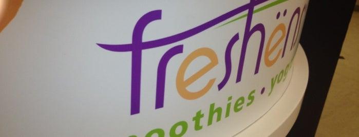 Freshen's Smoothies & Yogurt is one of Tempat yang Disimpan JULIE.