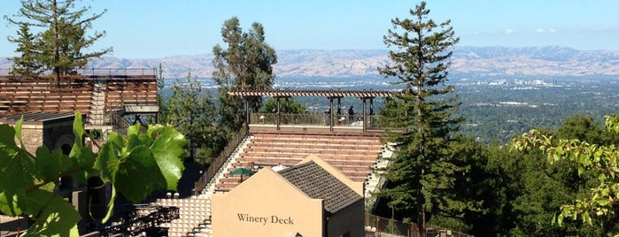 Mountain Winery is one of San Jose.