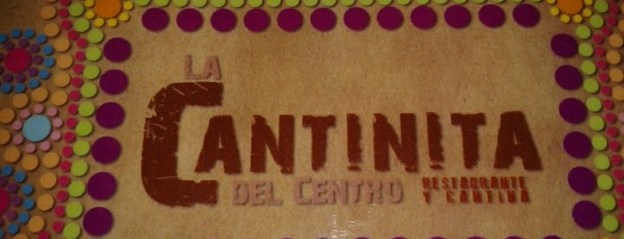 La Cantinita Del Centro is one of restaurantes.