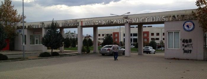 Darıca Farabi Eğitim Ve Araştırma Hastanesi is one of Zümrüt 님이 저장한 장소.