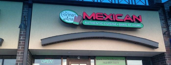La Cocina De Ana is one of Mpls St Paul Insider Eats 2012.