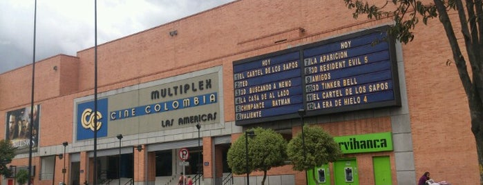 Cine Colombia is one of สถานที่ที่ Dico ถูกใจ.