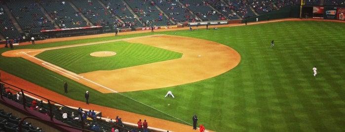 Globe Life Park in Arlington is one of Baseball Stadiums (MLB)....