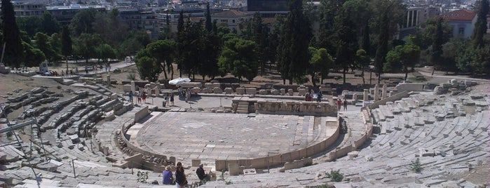 Theatre of Dionysus Eleuthereus is one of [To-do] Athens.