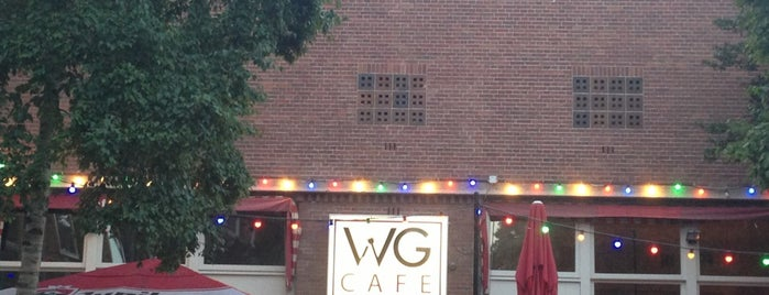 WG café is one of Z☼nnige terrassen in Amsterdam❌❌❌.