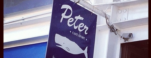 Peter's Café Sport is one of Cafés, Esplanadas & Bares.