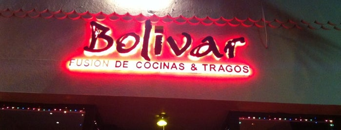 Bolivar Restaurant • Bar •  Lounge is one of Venezuelan Restaurants.