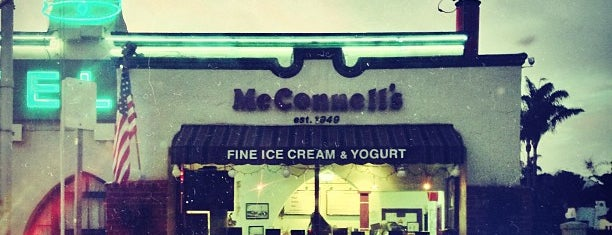 McConnell's Fine Ice Creams is one of California.