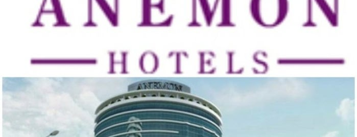 Anemon Hotels is one of Lieux qui ont plu à Mustafa.