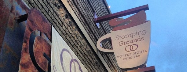 Stomping Grounds Coffee & Wine Bar is one of G. Village.