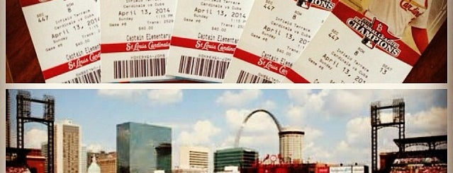Busch Stadium is one of Sporting Venues....