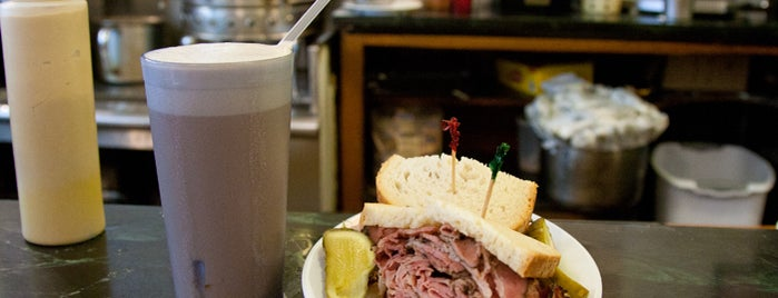 Eisenberg's Sandwich Shop is one of NYC.