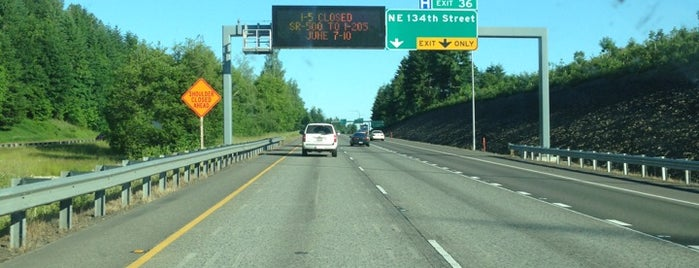 I 205 is one of My Saved Places.