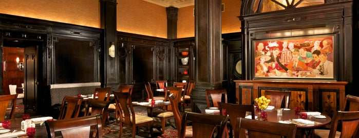 The Round Table Restaurant, at The Algonquin is one of New Yorkers About Town ( NY ).