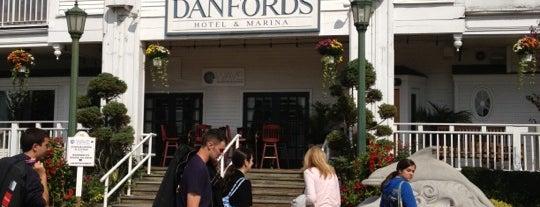 Danfords Hotel & Marina is one of Tempat yang Disukai Tim.