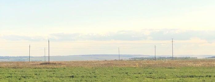 Граница Татарстана и Чувашии is one of Lugares favoritos de Ruslan.