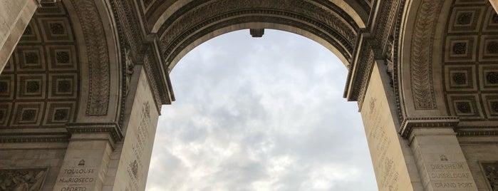 Arco de Triunfo is one of Lugares favoritos de Ruslan.