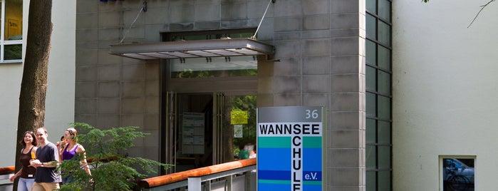 Wannseeschulen für Gesundheitsberufe e.V. is one of Matveyさんのお気に入りスポット.