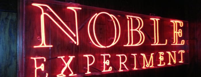 Noble Experiment is one of My San Diego To-Do's.