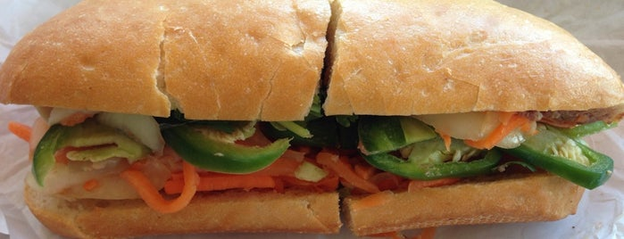 Saigon Sandwich is one of Tried and True.