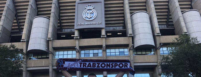 Real Madrid,Barnebau Stadium is one of Madrid.