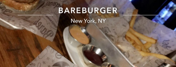 Bareburger is one of Work Lunch Options - Midtown East.