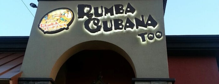 Rumba Cubana is one of sweets.