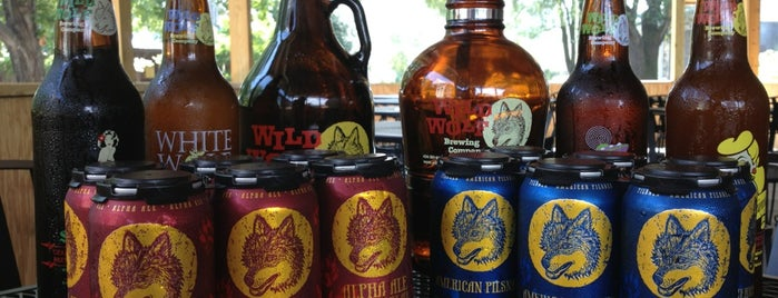 Wild Wolf Brewing Company is one of Posti salvati di Rachel.