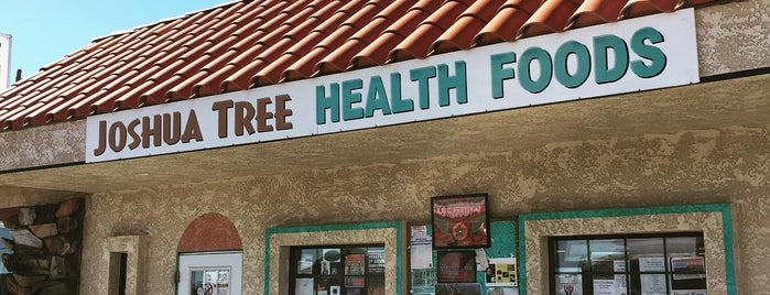 Joshua Tree Health Foods is one of The Joshua Tree Field Guide.