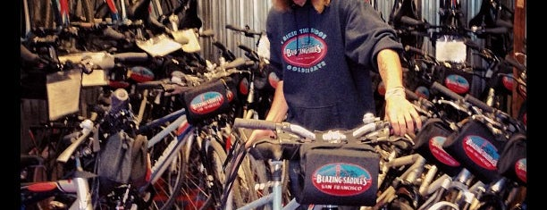 Blazing Saddles Bike Rentals is one of USA San Francisco.