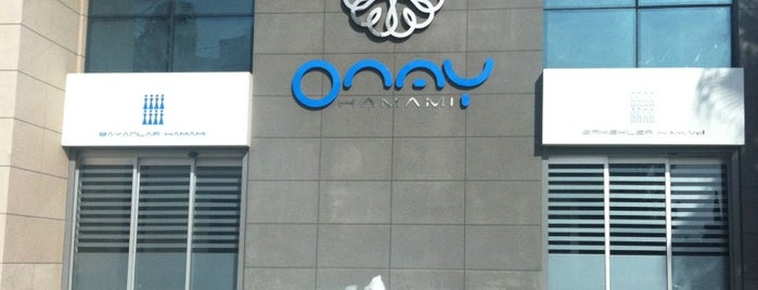 Onay Hamamı (100. YIL) is one of Antalya.