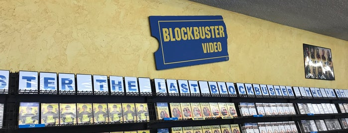 Blockbuster Video is one of Portland.