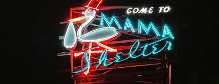 Mama Shelter is one of LA.