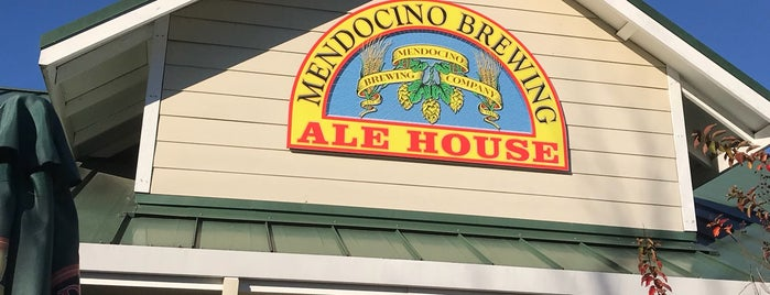 Mendocino Brewing Ale House is one of Breweries.