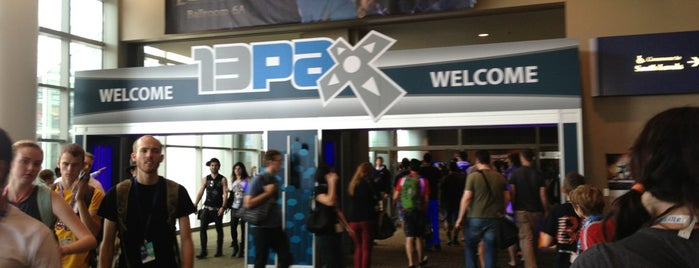 PAX Prime 2013 is one of Corey 님이 좋아한 장소.