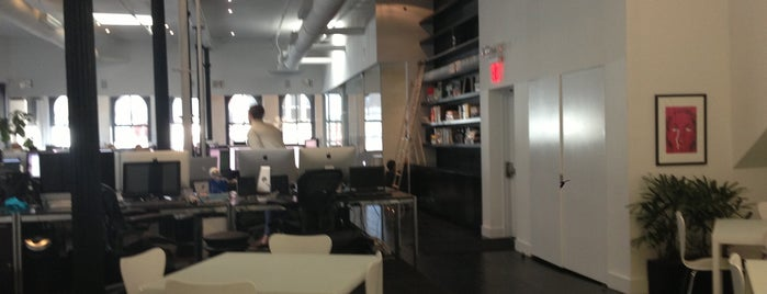 Squarespace HQ is one of Startups & Spaces NYC + CA.