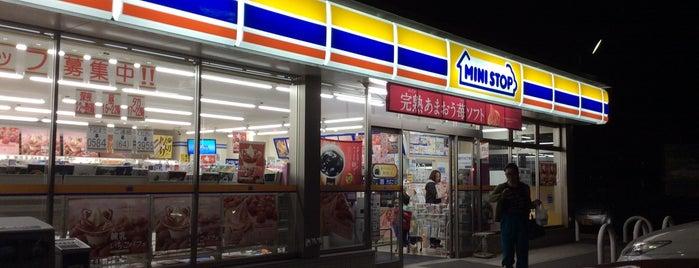 ミニストップ 安八町氷取店 is one of Orte, die Masahiro gefallen.