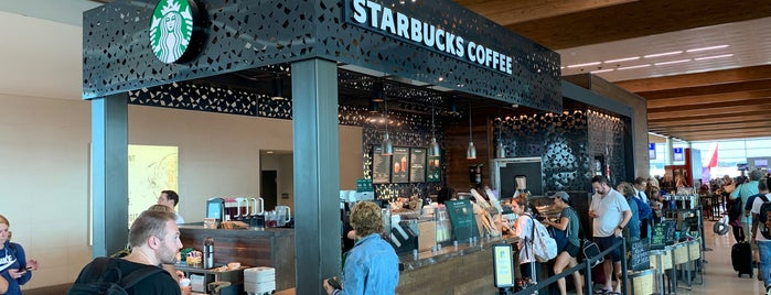 Starbucks is one of Beans, Brews, and Buzz.