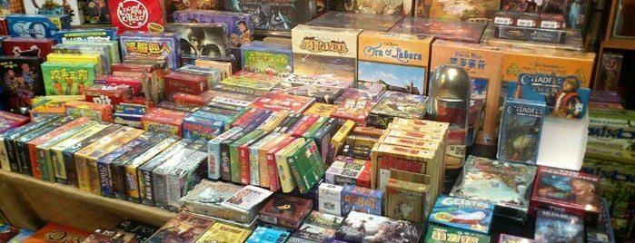桌遊店和俱樂部 Board game shops/cafes in Taipei