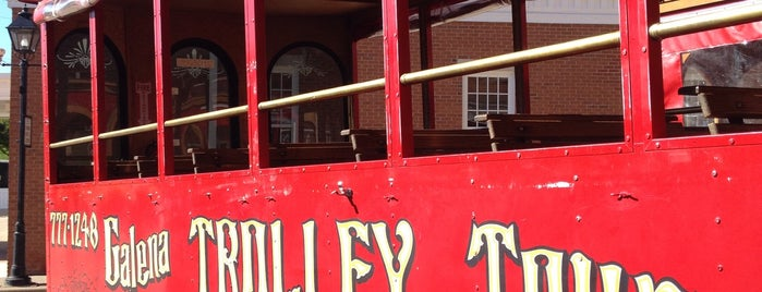 Galena Trolley Tours is one of Galena To Do.