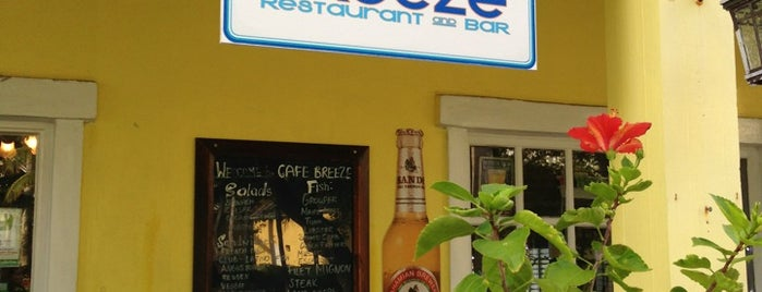Breezes Cafe is one of Oliverさんのお気に入りスポット.