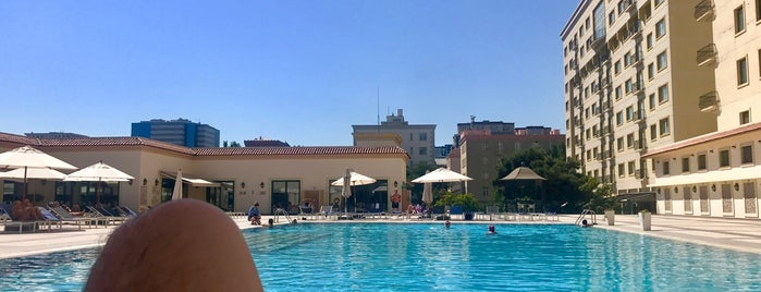 Oasis Hyatt Pool is one of Ba6aLeE : понравившиеся места.