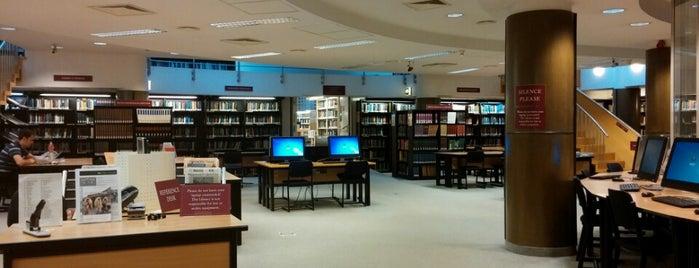 CEU Library is one of Lieux sauvegardés par Anna.