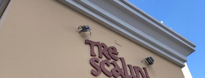Tre Scalini is one of Pizzerias Italiana comida.