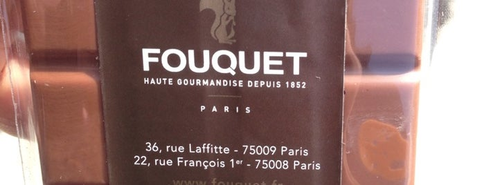 Fouquet is one of Always Gourmet   PARIS !.