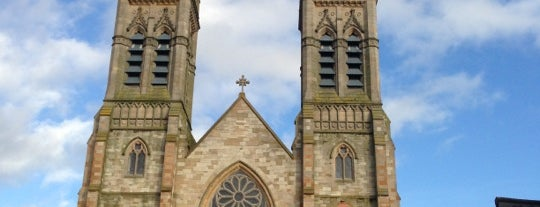 St Peter's Cathedral is one of Grand Tour of Belfast.