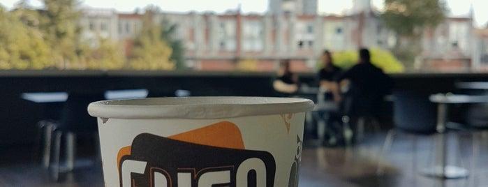 Gufo Coffee Shop is one of สถานที่ที่ Ecesu ถูกใจ.