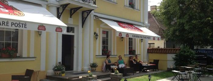 Kavárna na Staré Poště is one of Lieux sauvegardés par Hana.