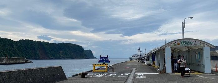 Okata Port is one of Locais curtidos por 高井.